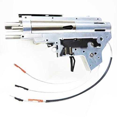 AEG Airsoft juegos de disparos engranaje APS borde de plata Extreme 8 mm con caja 2 traseras versión alemana