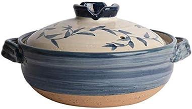 Praktisch Casserole gerechten Japanse keramische hete pot braadpan bank klei pot ronde braadpan hittebestendige soep pot s...