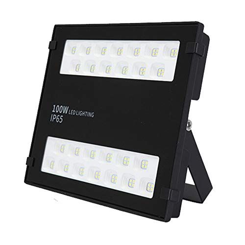 lxfy Projecteur LED, IP65 étanche, Lumières de sécurité d'extérieur Ultra Lumineuses Ultra Minces, Projecteur pour Jardin, Garage, Usine, entrepôt, carré [Classe énergétique A +]