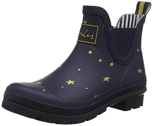 Tom Joule Damen Wellibob Gummistiefel, Blue Star Stargaze, 42 EU