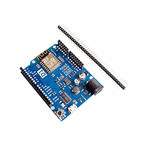 NICEDINING Módulo Controlador Versión actualizada WEMOS D1 R2 WiFi UNO Board basado en ESP8266 para Arduinos Nodemcu Compatible