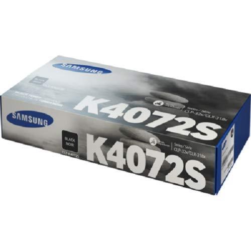 Samsung CLT-K4072S Original Toner (Kompatibel mit: CLP-320/CLP-325/CLX-3185 Series) schwarz