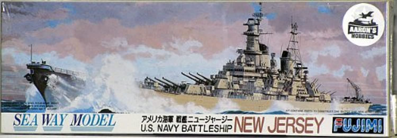 Fujimi 1 700 U.S. Battleship New Jersey BB62 (japan import)