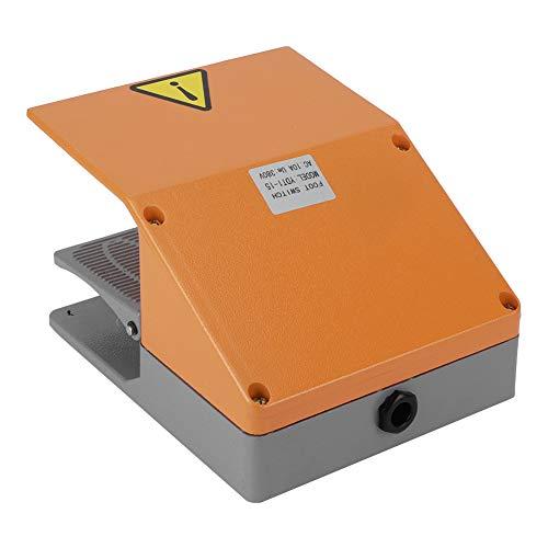 Interruptor de pedal, aleación de tamaño pequeño del interruptor de pedal de 15 380VAC para máquina eléctrica