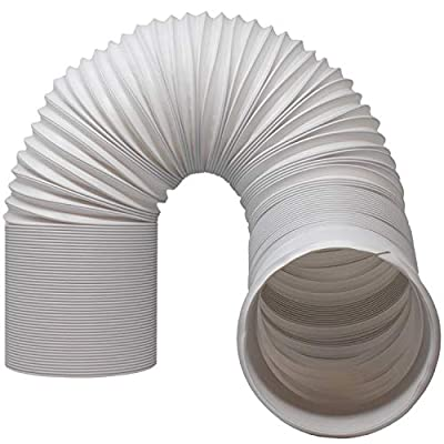 """Air Conditioner Hose. Portable Exhaust Vent with 5.9"""" Diameter, Anti-Clockwise Thread & Length up to 80"""". Great for LG, Delonghi and Many More Portable Air Conditioners"""