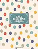 Sale Discount Journal: Sales Product Quantity Discount Tracker Notebook