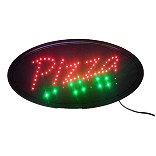 Neon Luci LED Animata Pizza Segno Clienti Attraente Insegna Negozio Negozio Segno