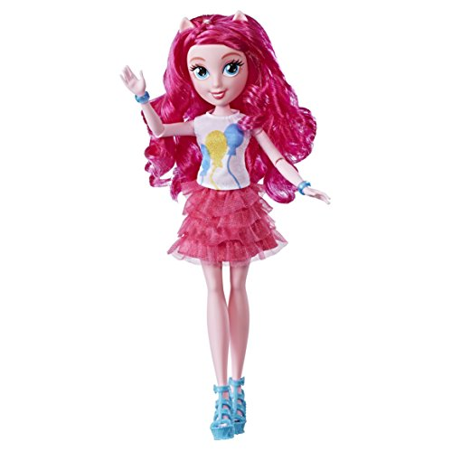 e0663es0 Equestria Girls My Little Pony Pinkie Pie Estilo Clásico muñeca , color/modelo surtido