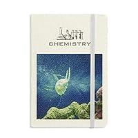 海洋クラゲ科学は自然の写真 化学手帳クラシックジャーナル日記A 5