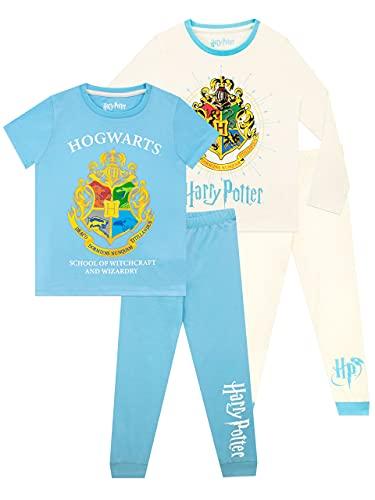 Harry Potter Girls Hogwarts Pyjamas 2 Pack