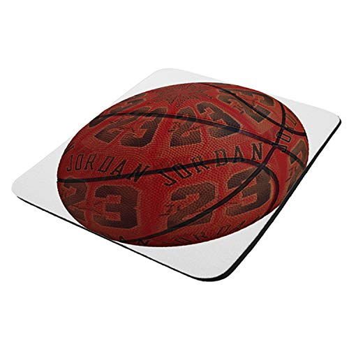 Jordan 23 Basketball - Mouse Pad Thick Neoprene Rectangle for Home Office & Gamers (use as a Water Proof hot pad,Trivet,Mousepad)
