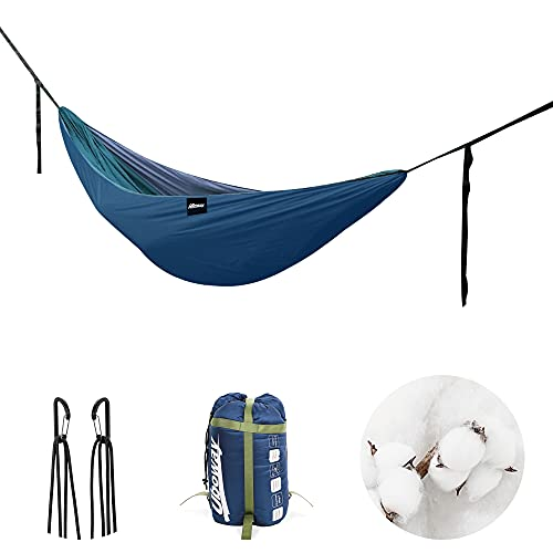 UBOWAY Hammock Underquilt - Packable Full Length Under Blanket, Camping Quilt( Navy)