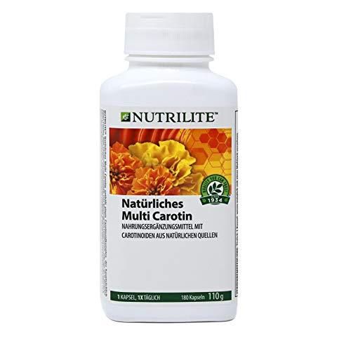 Natürliches Multi Carotin NUTRILITE™ - Nahrungsergänzungsmittel mit Carotinoiden aus natürlichen Quellen - 180 Kapseln / 110 g -  (Art.-Nr.: 109540)