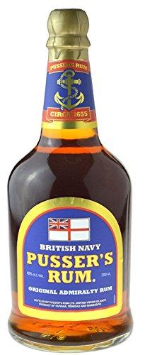 Pusser´s Rum 0,7l, 40% vol. aus British Navy Guyana, Trinidad