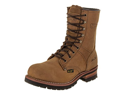 Ad Tec Mens 9 Inch Lug Sole Super Logger Work Boot,...