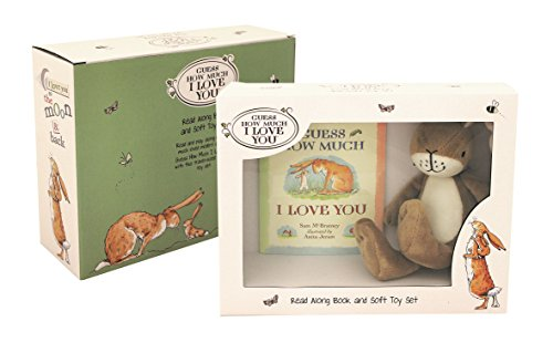 Rainbow Designs Gh1351 Guess How Much I Love You Livre/Ensemble Cadeau en Peluche