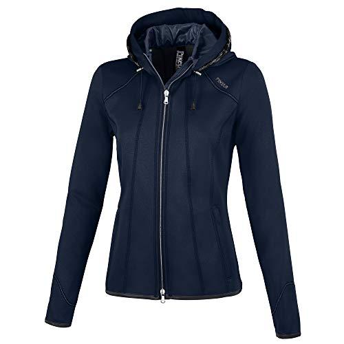 PIKEUR Damen Fleecejacke JANNY Sportswear Collection Sommer 2021, night sky melange, 34