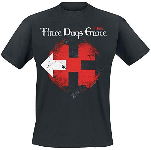 Three Days Grace Eclipse T-Shirt schwarz L