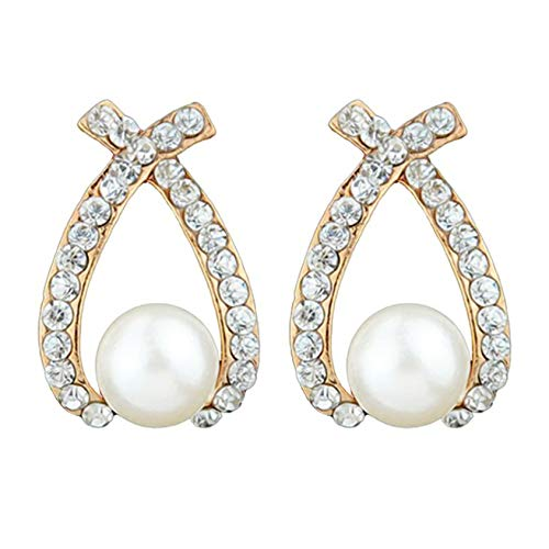 QQWA Temperament Stud Earrings Jewelry for Women Girls Charm Earrings Women Stud Earrings Presents for Women Birthday Jewellry Gift