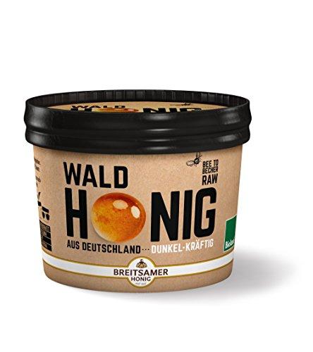 Breitsamer Bio-Honig aus Deutschland Wald flüssig, 315 g