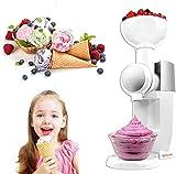 Máquina para hacer helados, con congelador incorporado, máquina automática para hacer sorbete de yogur congelado de 800 ml, máquina para fabricar helados, máquina para fabricar hielo, encimera para