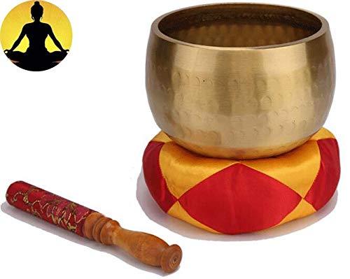 Wangxiao Tibetaanse klankschaal, meditatie, achtzaamheid, boeddhistische schotel, prachtig handgemaakt