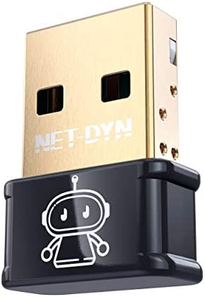 NET DYN Mini AC1300 Black USB WiFi Adapter for PC 2 4GHz 5GHz 600 300Mbps USB 3 0 Wireless Network product image