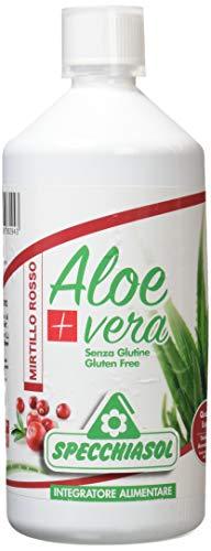 Specchiasol Aloe Vera+ Mirtillo Rosso, 1000 ml
