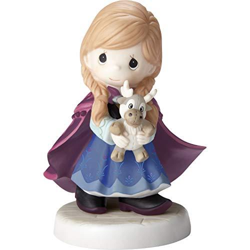 Precious Moments 193054 Disney Showcase Frozen You're So Deer to Me Bisque Porcelain Figurine, One Size, Multicolor