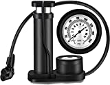 Dayalu Portable Floor Foot Activated Bicycle Air Pump, Precision Pressure Gauge High Pressure