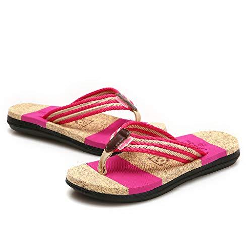 Sandalias Mujer Verano 2019, Lanskirt Unisexo Zapatos de Pareja Sandalia de Playa...