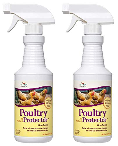 Manna Pro 0502035355 Ready-to-Use Poultry Protector for Birds, 16-Ounce (Two Pack)