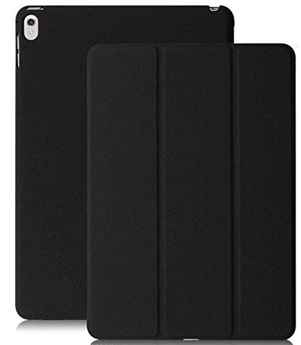 iPad Pro 9.7 Zoll Case / Hülle - KHOMO Schwarzes Gehäuse mit Doppeltem Schutz Ultra Dunn und Super Leicht Smart Cover Schutzhülle fur das Neue Apple iPad Pro 9.7 Zoll (2016) - Dual Black