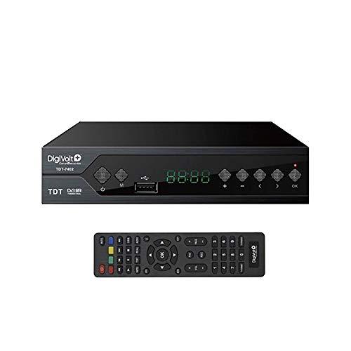 Digivolt TDT HD e TDT 2 ad alta definizione USB Rec TDT-7402
