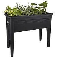 Elho Green Basics Grow Table XXL Crecimiento, Negro Intenso, 29x29x26.3 cm