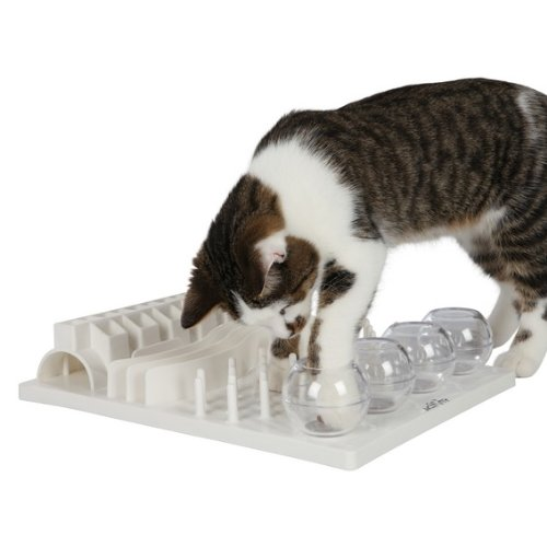 Trixie 4590 Cat Activity Fun Board, 30 × 40 cm, weiß - 4