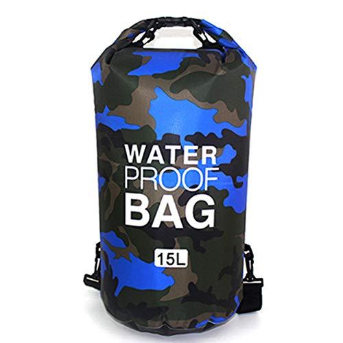 YXDS Bolsa de Agua portátil Rafting Buceo Bolsa Seca Saco PVC Bolsa de Almacenamiento Plegable Impermeable para natación para Trekking por el río