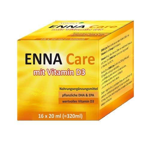 ENNA Care® mit VITAMIN D3, DHA + EPA - 16 x 20 ml - Nahrungsergänzungsmittel