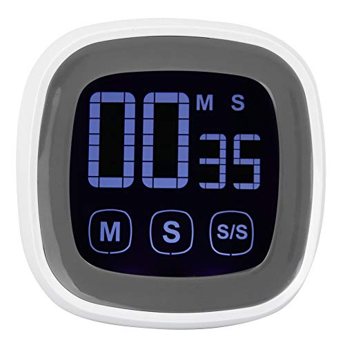 Digitaler Küchen-Timer Großer Bildschirm Lauter Alarm Digitale Kocherinnerungen Grill-Timer zum Kochen Backen von Sportspielen Küche 1 Pack