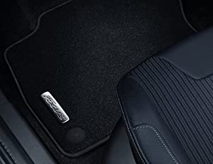 Genuine Ford Focus 2015  Front Velour Carpet Mats With Focus Logo 1914002
