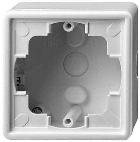 Gira Aufputzgehäuse 006142 1fach S-Color grau