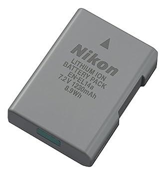 New EN-EL14 EN EL14A EN-EL14A Battery for Nikon Coolpix P7800 P7700 P7100 P7000 DF D5600 D5500 D5300 D5200 D5100 D3400 D3300 D3200 D3100 …