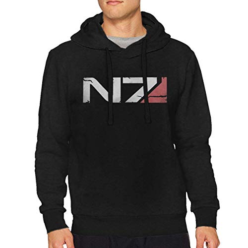 Mass Effect N7 Armour Logo Man Hoodie(Medium)