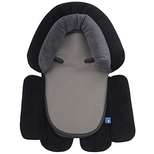 COOLBEBE cojín reductor silla paseo bebé | Soporte para cabeza y cuello | Suave Algodón Almohadilla Estera Cochecito Bebé Asiento de Coche silla de paseo