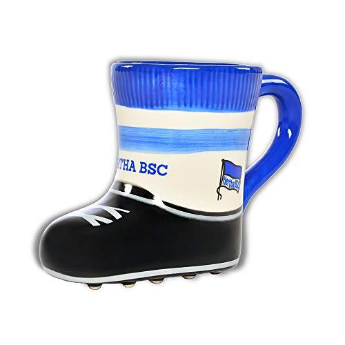 Hertha BSC Berlin Tasse - Stiefel - Kaffeetasse, Becher, Mug - Plus Lesezeichen I Love Berlin