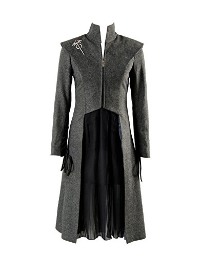 GOT Game of Thrones Season 7 Daenerys Targaryen Outfit Cosplay Kostüm Damen XL