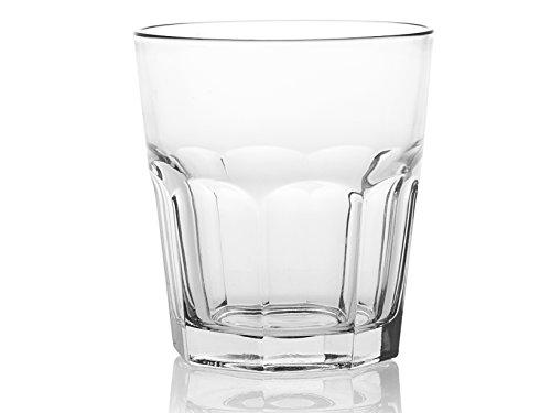 Pasabahce Set 12 Bicchieri in Vetro Casablanca 36 Arredo Tavola, Trasparente