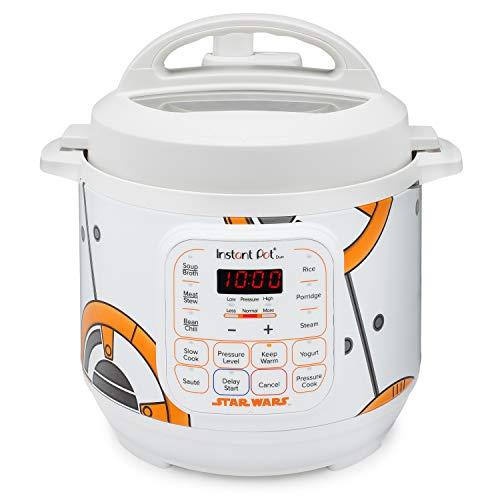 Instant Pot 110-0033-01 3Qt Star Wars Duo Mini 3-Qt. Pressure Cooker, White-BB-8