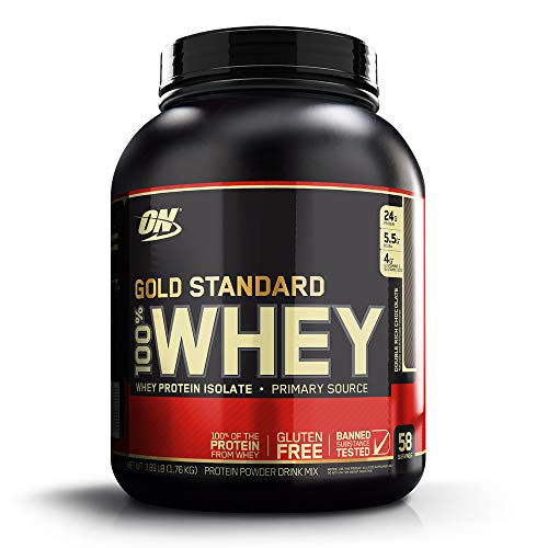 Optimum Nutrition 100% Whey Protein - Gold Standard Double Rich Chocolate 3.89 lbs