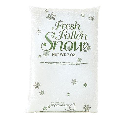 Department 56 Village Collections Fresh Fallen Snow Landscape Accessory, 4 liters bag, White